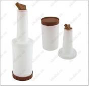 Baro butelis su piltuvėliu 1 ltr