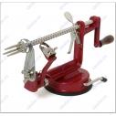 Obuolių lupimo-pjaustymo aparatas