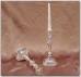 Pasidabruota žvakidė (1 žvakei)