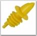 Piltuvėlis buteliui geltonas