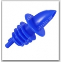 Piltuvėlis buteliui mėlynas