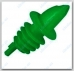 Piltuvėlis buteliui žalias