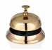 Rezeption skambutis aukso spalvos d.9,5cm